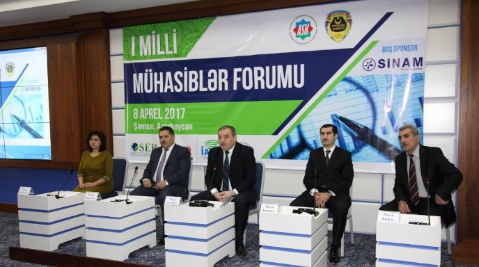 The 1st Azerbaijan accountants forum – 2017 was held