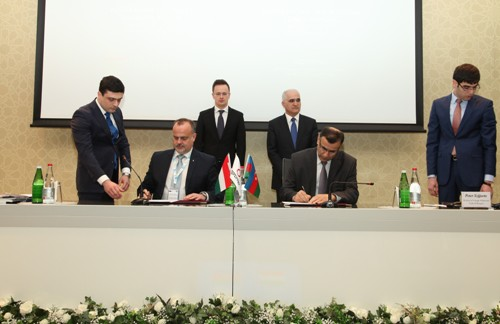 "The Azerbaijani-Hungarian business forum has been held in Baku. SINAM has signed memorandum with the company ""Toll Service"""