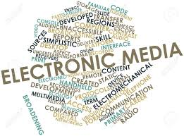 The government will provide material support for the electronic media